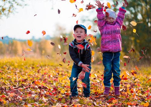 Красивые стихи об осени для детей 4-5 лет