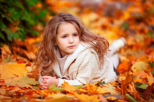 Красивые стихи про осень для детей 5 лет