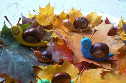 поделки на тему осень в садик средняя группа