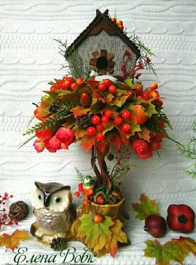 поделки на тему осень в садик старшая группа 9