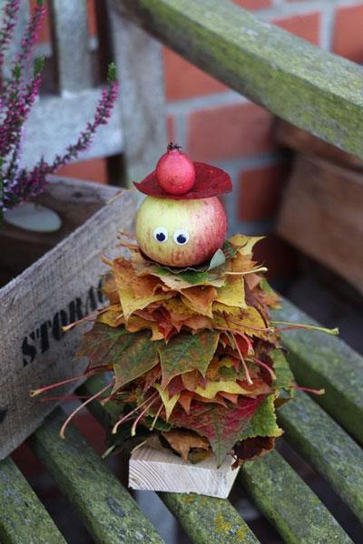 поделки на тему осень в садик старшая группа 6