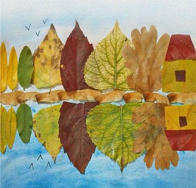 Осенние поделка в садик своими руками