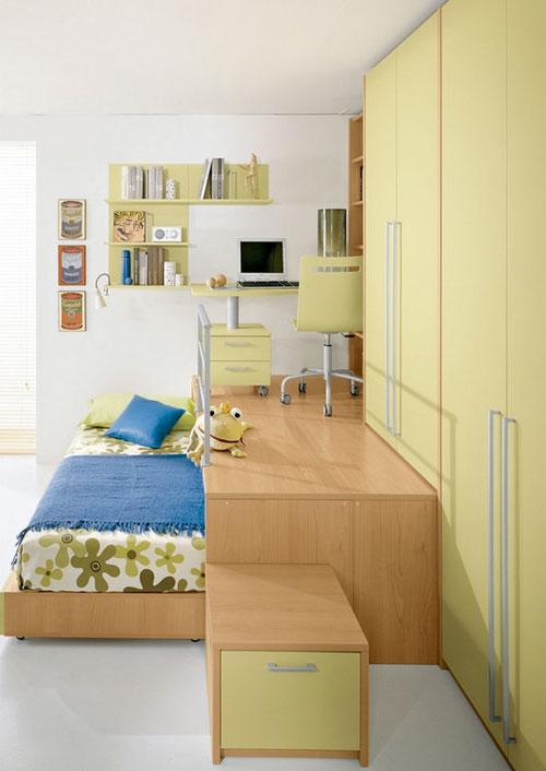 зонирование детской комнаты для подростков