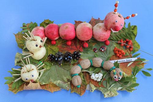 поделки на тему осень в садик средняя группа 7