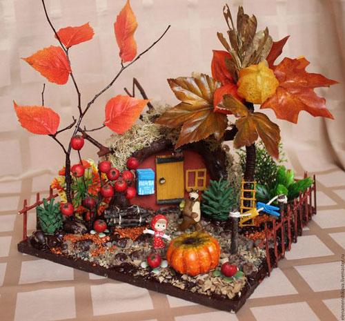 поделки на тему осень в садик старшая группа