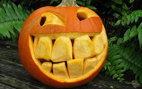 поделки тыква хэллоуин