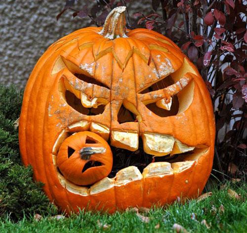 поделки тыква хэллоуин 2