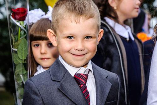 прическа для мальчика на 1 сентября 1 класс с фото