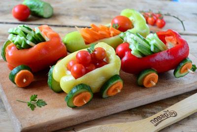 красивые овощные блюда для детей