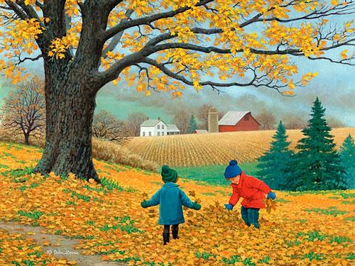 Короткие стихи про осень для детей 3 лет