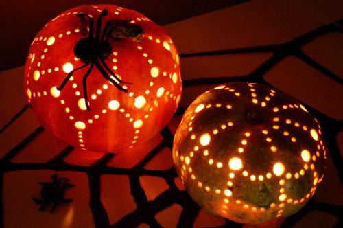 сделать поделку поделку из тыквы на хэллоуин 2