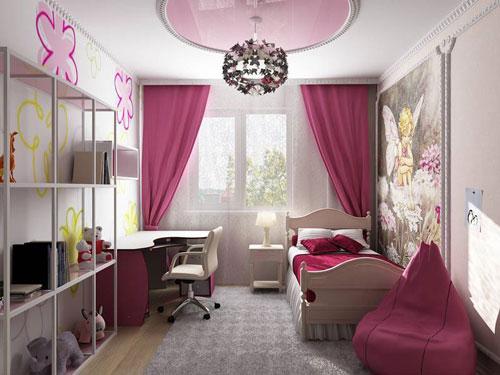 комната для подростка девочке 12 лет