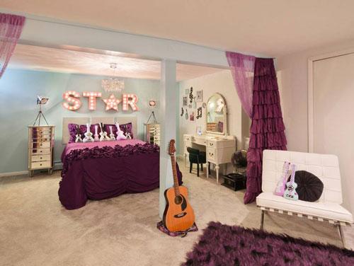 идеи комнат для подростков девочек