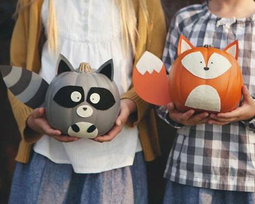 поделки из тыквы на хэллоуин для детей