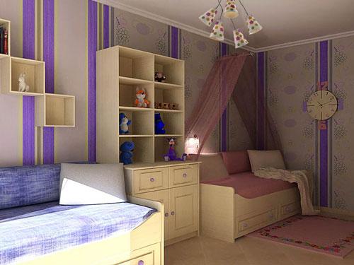 Интерьер детской комнаты для мальчика и девочки 3
