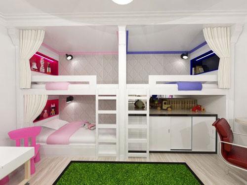 зонирование детских комнат фото 11