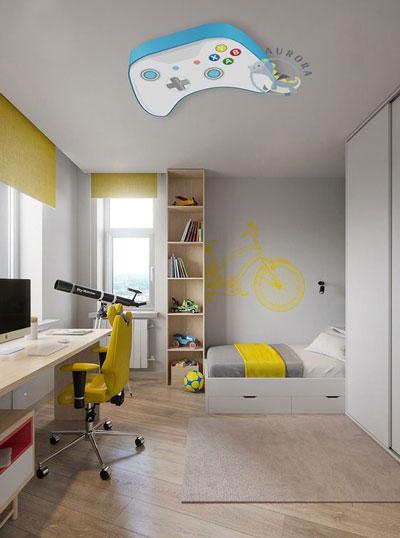 зонирование детской комнаты для разнополых деток 7
