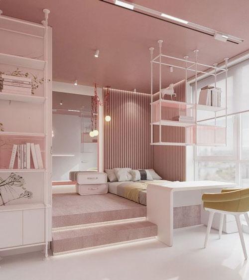 зонирование комнаты зал и детская