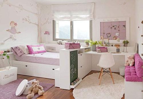 зонирование детской комнаты 3