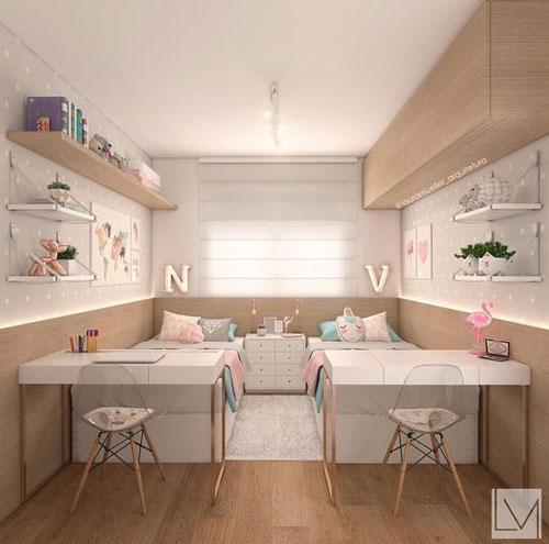 зонирование детской комнаты 4