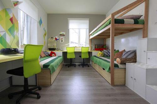 зонирование детских комнат фото 3