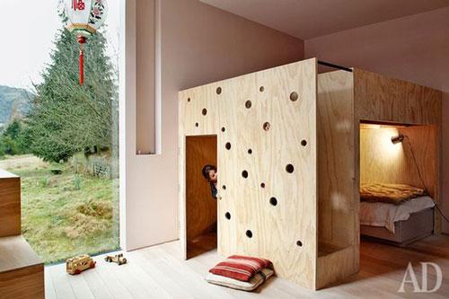 зонирование комнаты для разнополых детей 9