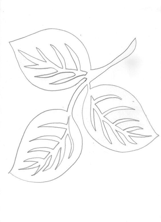 осенний лист поделка из бумаги 8