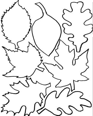 осенний лист поделка из бумаги 4
