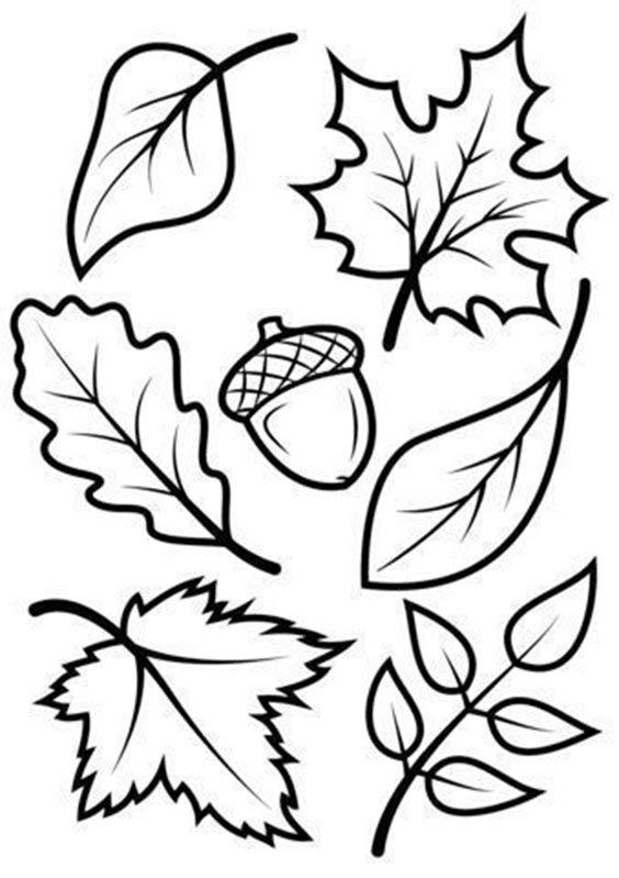 осенний лист из цветной бумаги 10