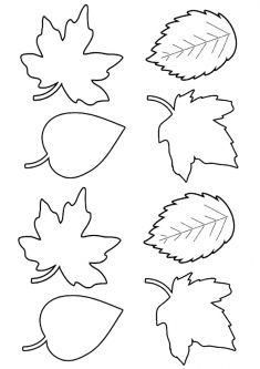 осенний лист поделка из бумаги 12