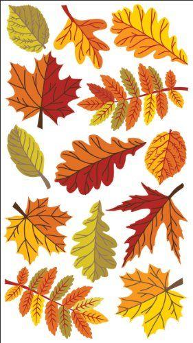 осенний лист из цветной бумаги 2