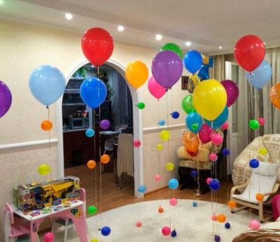 удивить ребенка с помощью воздушных шаров