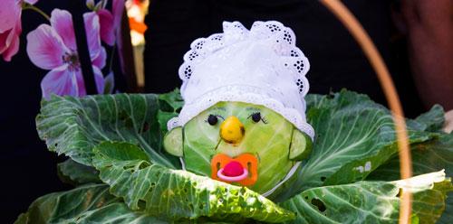 детские поделки из овощей своими руками 4