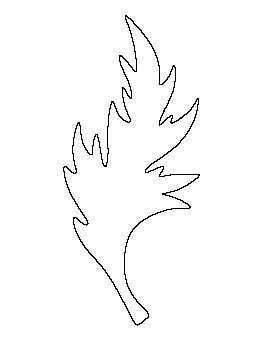 осенний лист поделка из бумаги 10