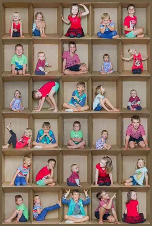 красиво сфотографировать детей дома 2
