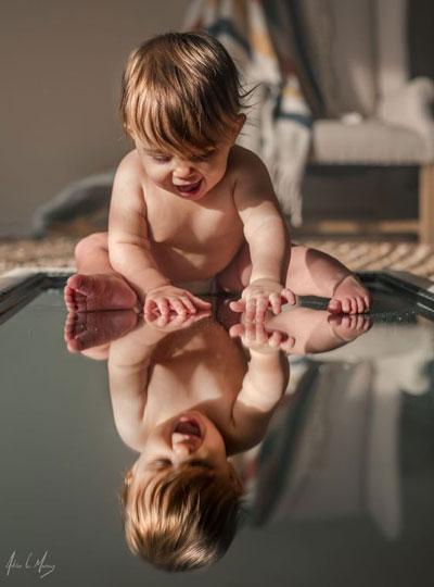 красиво сфотографировать детей дома
