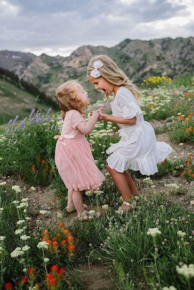 Как красиво сфотографировать ребенка летом 3