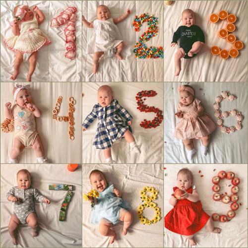 как сфотографировать новорожденного ребенка красиво дома 2