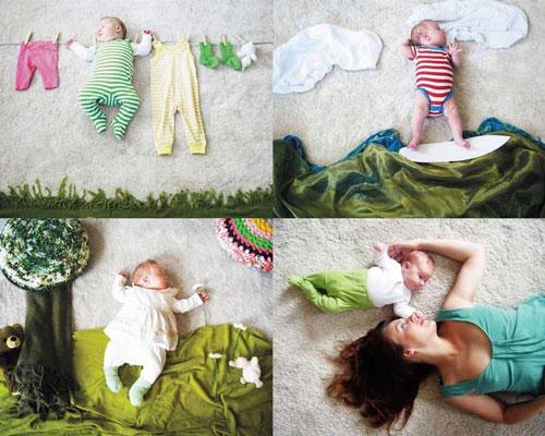 как сфотографировать новорожденного ребенка красиво дома