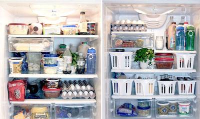 как навести порядок в холодильникена кухне