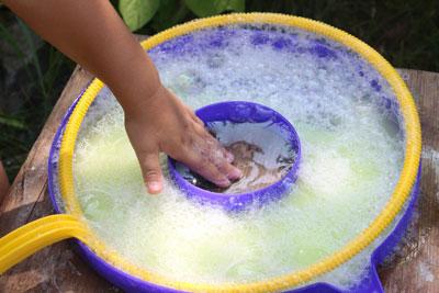 как приготовить раствор для мыльных пузырей в домашних условиях без глицерина