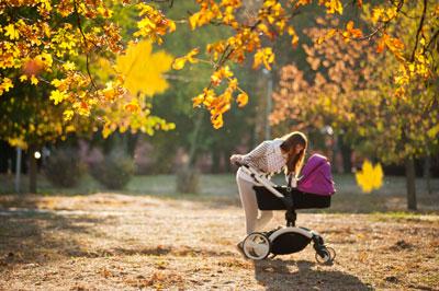 выбрать коляску для новорожденного осенью
