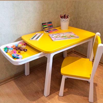 Какой стол выбрать ребенку 1,5 года