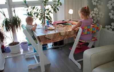 стулья трансформеры для детей