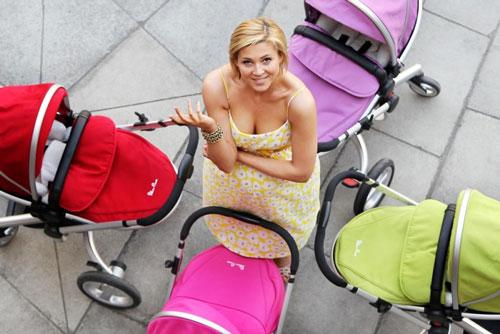 коляска для новорожденного: осень-зима