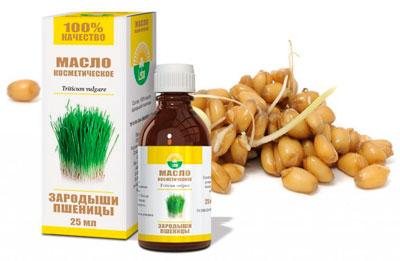 Маска из масла зародышей пшеницы для лица