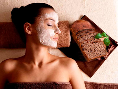Маска из ржаного хлеба для сухой кожи лица