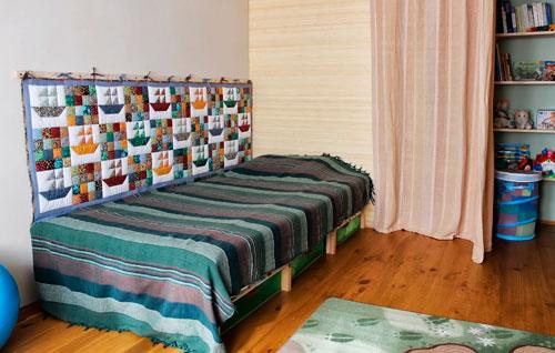 оформление стен в комнате ребенка в 7 лет