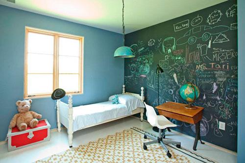 Оформление стен в детской комнате подростка 3