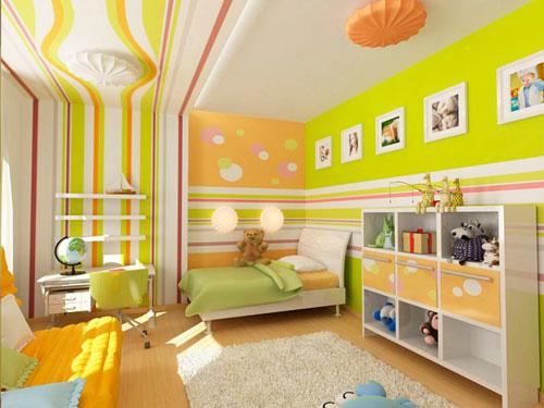 Оформление стен в детской комнате своими руками 4